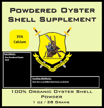 Powdered Oyster Shell Supplement 1oz
