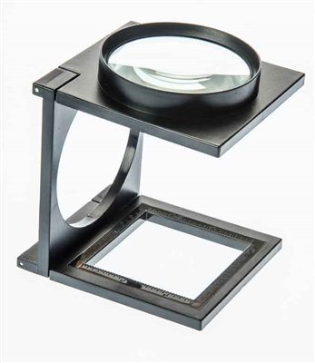 """3"""" Foldable Standing Magnifier 3.5X Magnification"""