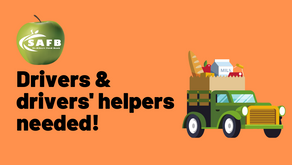 Volunteer drivers needed at the Food Bank