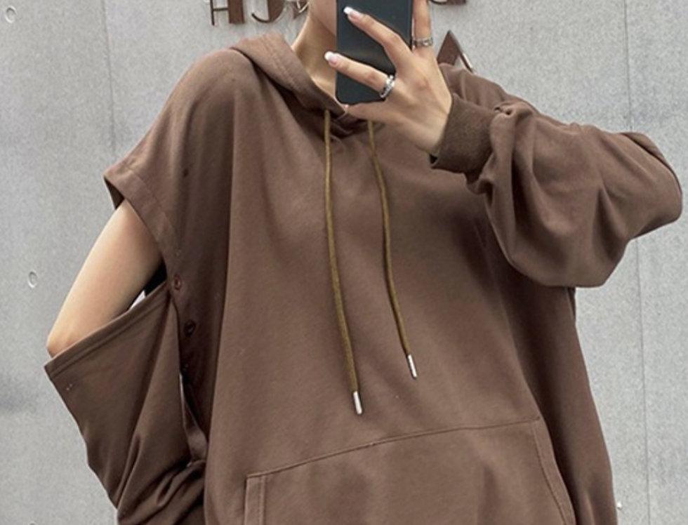 Peekaboo Zip Style Hoodie