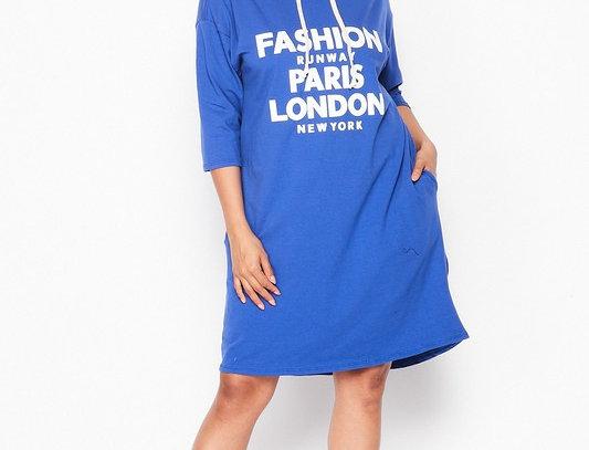 Fashion Vogue Hood Dress