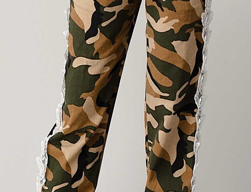 Butterfly Camouflage Pants