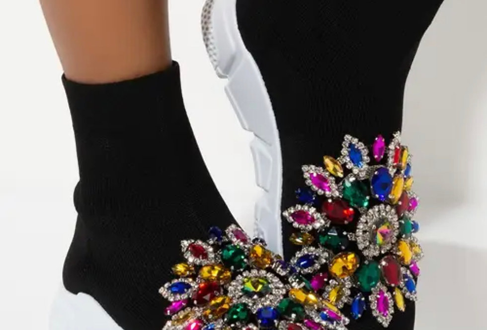 Jewels And Gems Sneakers