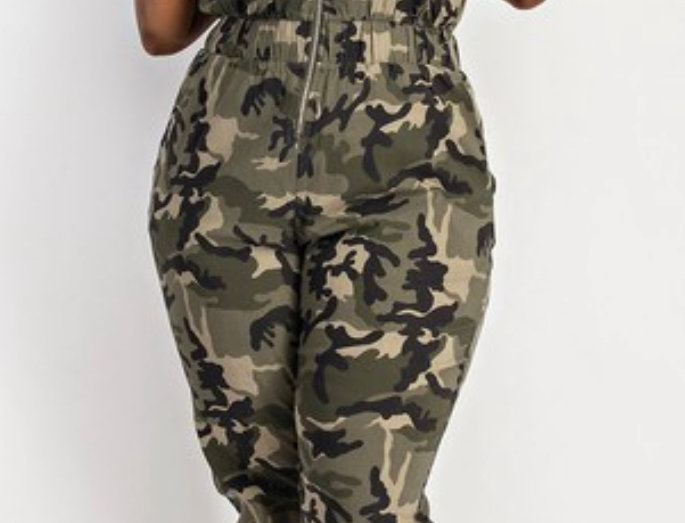 Camo Fly Girl Jumpsuit