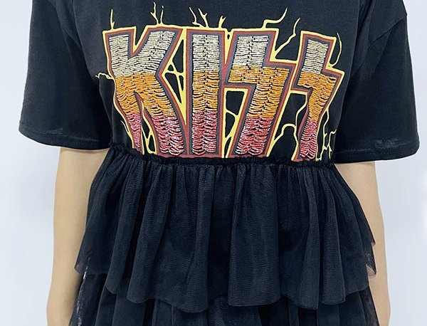 Kiss Ruffle Shirt