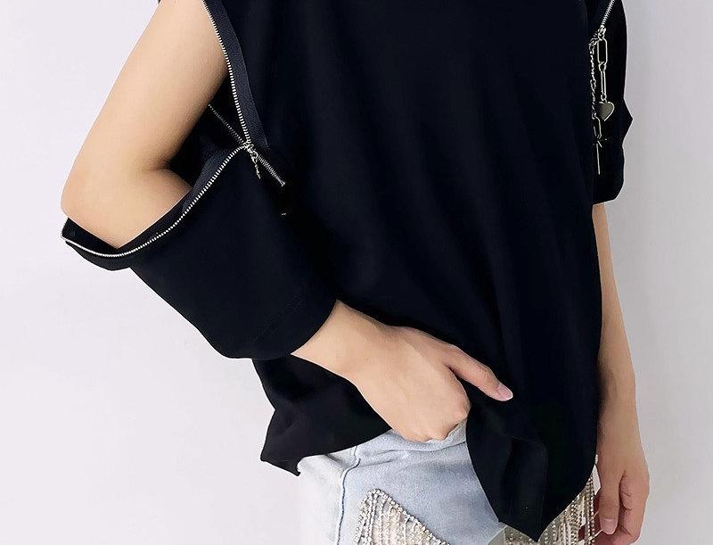 Chain Breaker Zip-Up Shirt