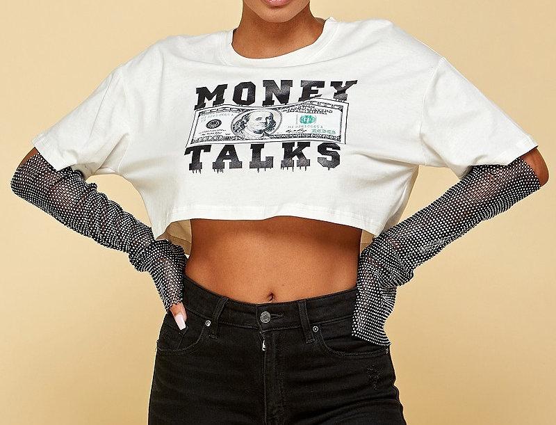Money Talks Sequins Shirt