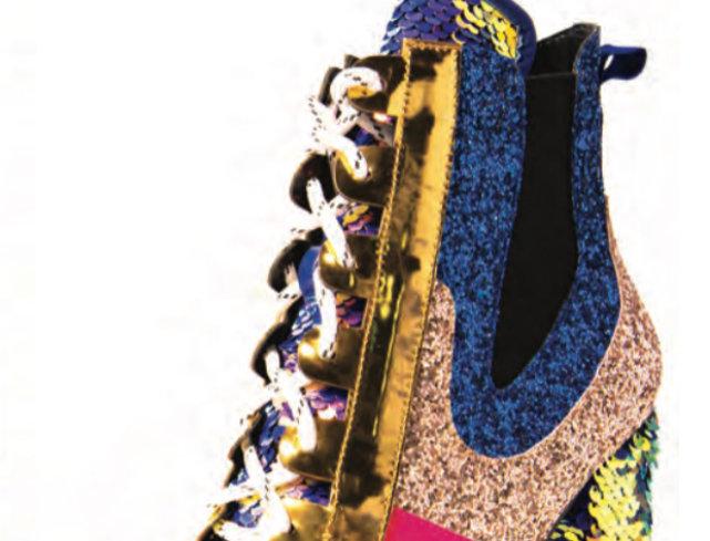 Sequins Mermaid Boots
