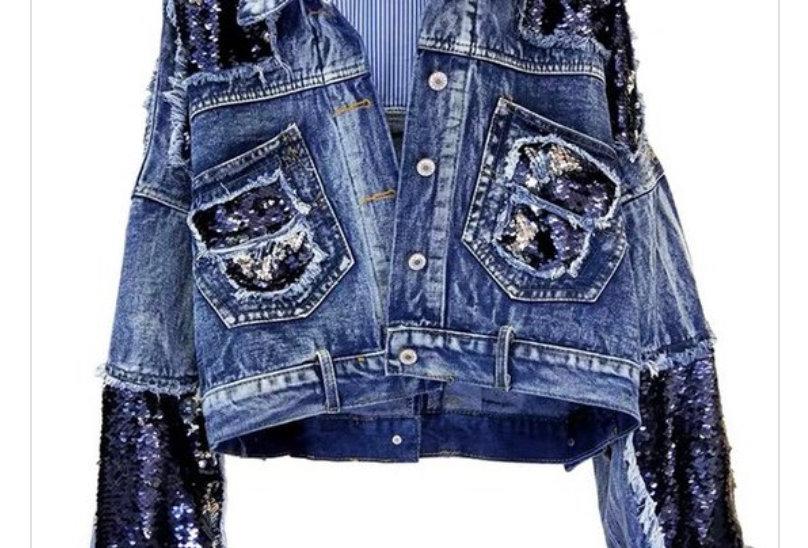 City Girl Sequins Jacket