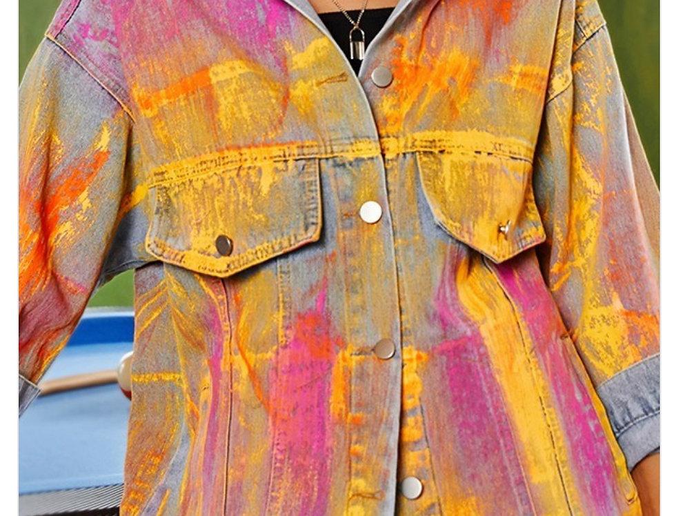 Color Me Bad Jean Jacket
