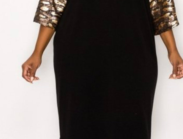 Bling Lady Sequins Dress