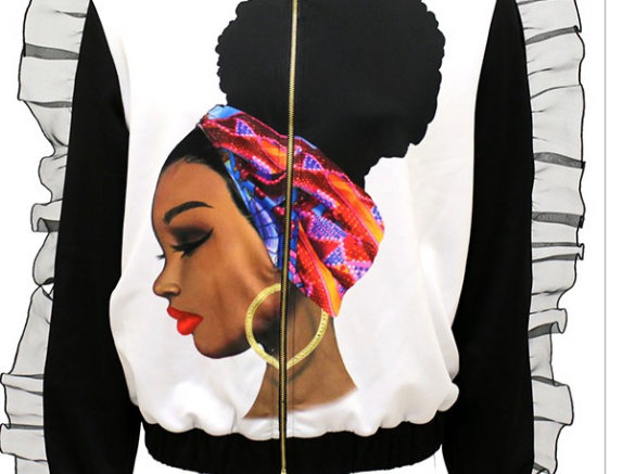 Afro Puff Black Power Jacket