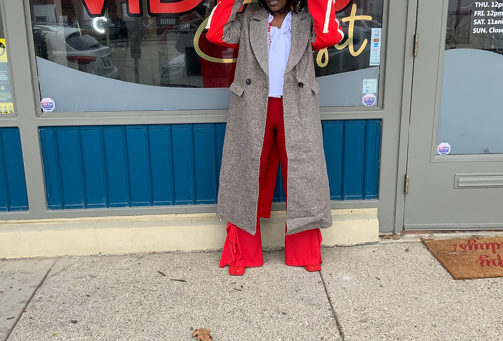 Lady In Red Class Act Coat