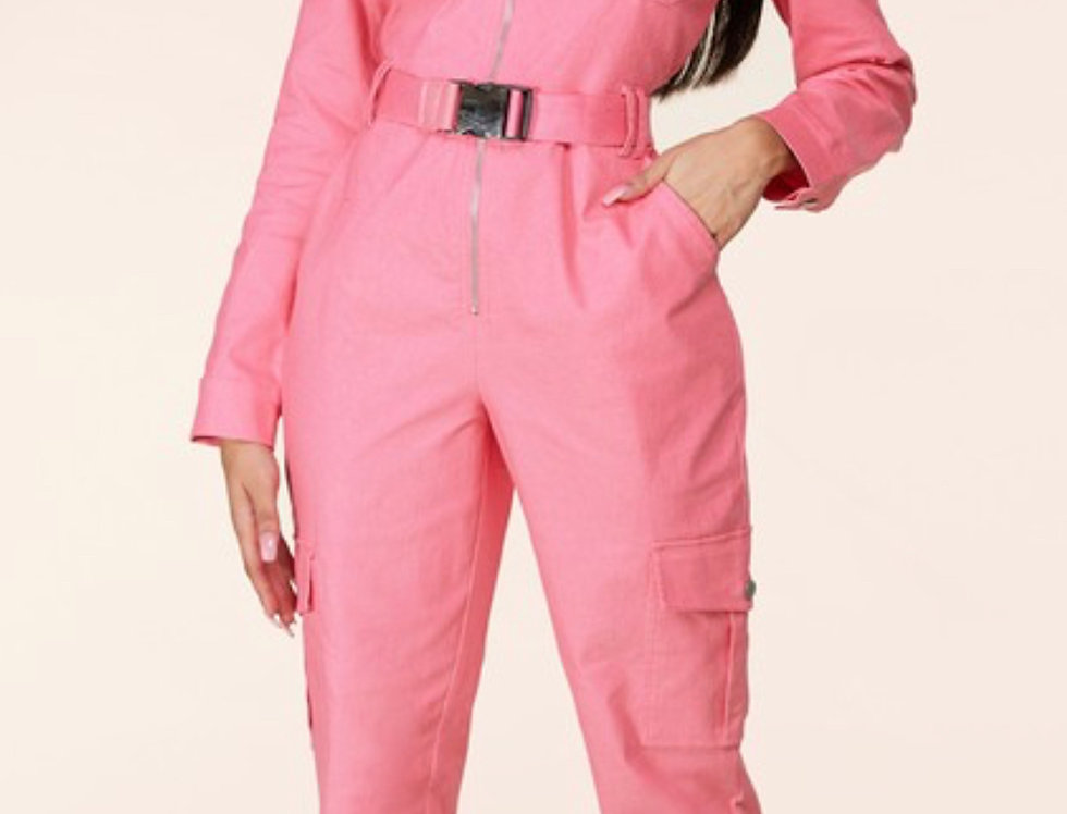 Pretty Women Pink Jumpsuit