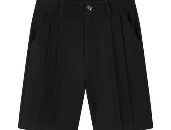 Sophisticated Lady Pleated Shorts