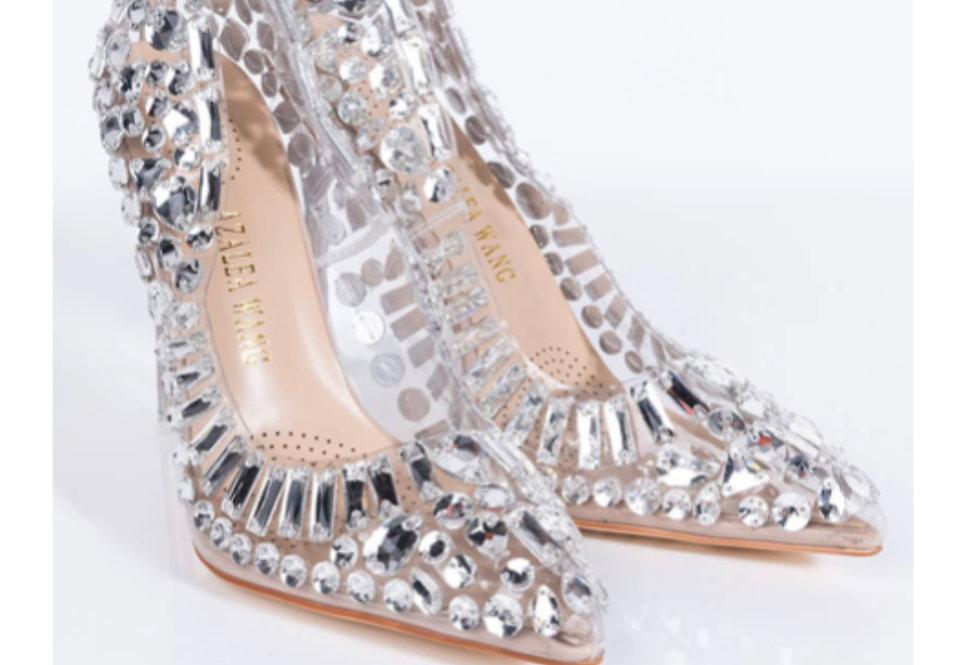 Bonnie- Glass Stiletto