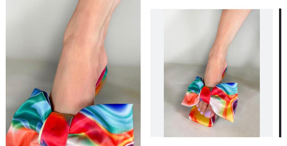 Martha-Multi Bow  Sandal
