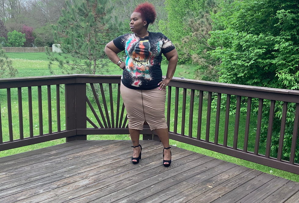 Foxy Girl Zip Skirt