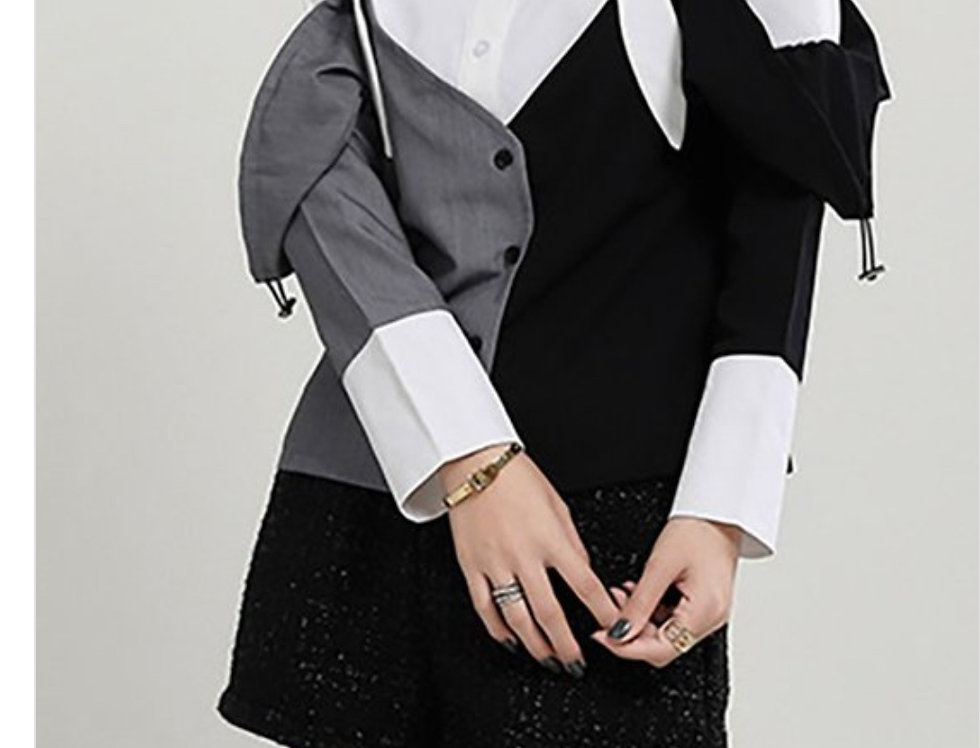Double Sided Oxford Shirt