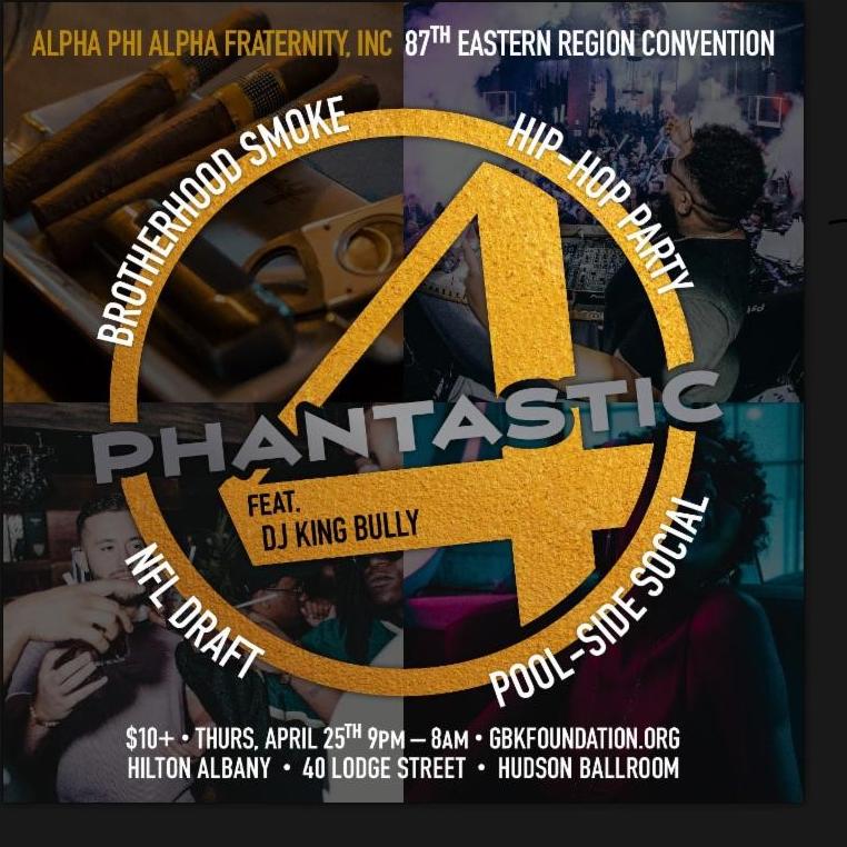87th Annual Eastern Region Convention Alpha Phi Alpha Fraternity, Inc. Hilton Albany, Albany, New York