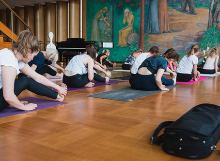 Yoga for music students
