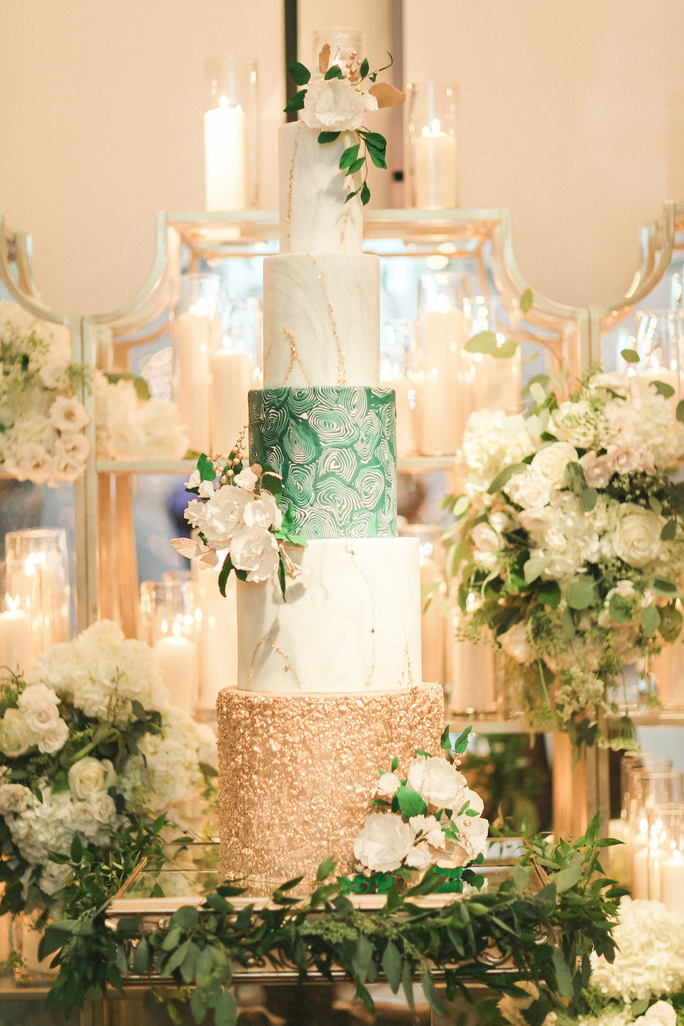 Buttercream Bakeshop Wedding Cake Washington DC CG & Co Events