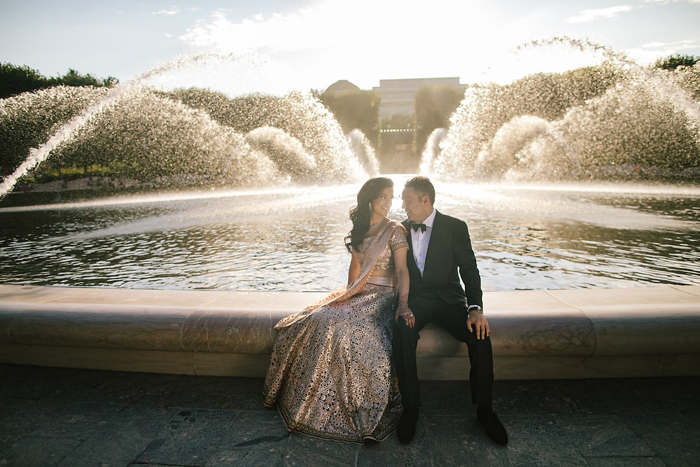 Multicultural Wedding Washington DC National Mall Bride and Groom CG & Co Events