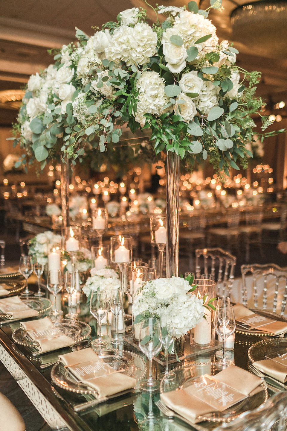 Green and White Wedding Decor Washington DC Wedding CG & Co Events