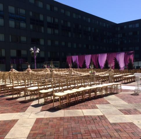 Outdoor Wedding, Inside the City - Baltimore - Part 2