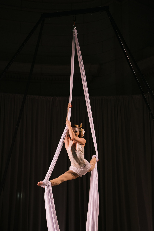 We Cirque Aerialist Performance Washington DC Wedding Entertainment CG & Co Events