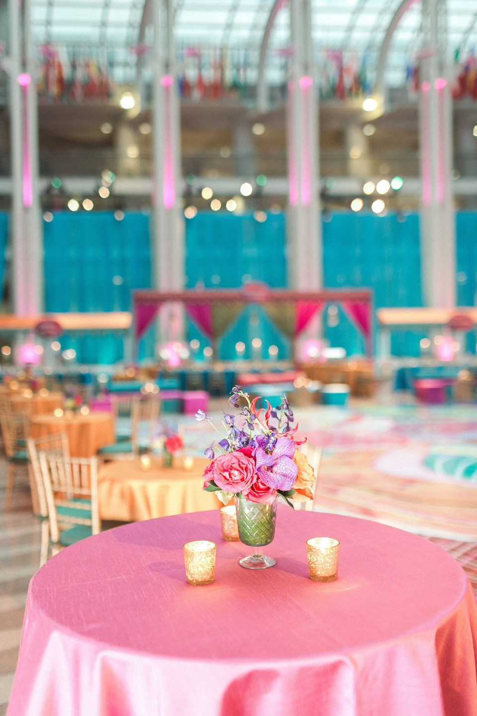Colorful Indian Wedding Sangeet CG & Co Events