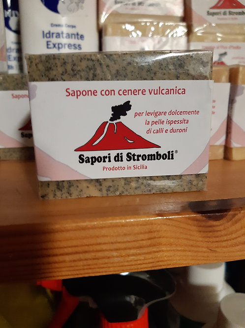 Sapone con Cenere Vulcanica