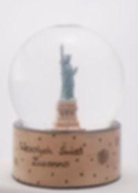 USA śniegowa kula statua wolności