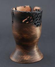 toczenie, prezent, drewna, rękodzieło, wypalony