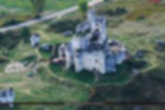 Ruiny, zamek, Mirów, małopolska, sląsk, zamek, szlak orlich gniazd, Jura, Jurze, zabytek polsce, pamiątka, szklana śnieżna kula, wiosna