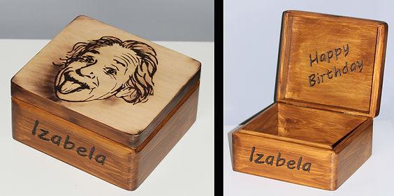 pudełko_prezent_dla_fizyka_Einstein_pirografia_prezent_urodziny.jpg
