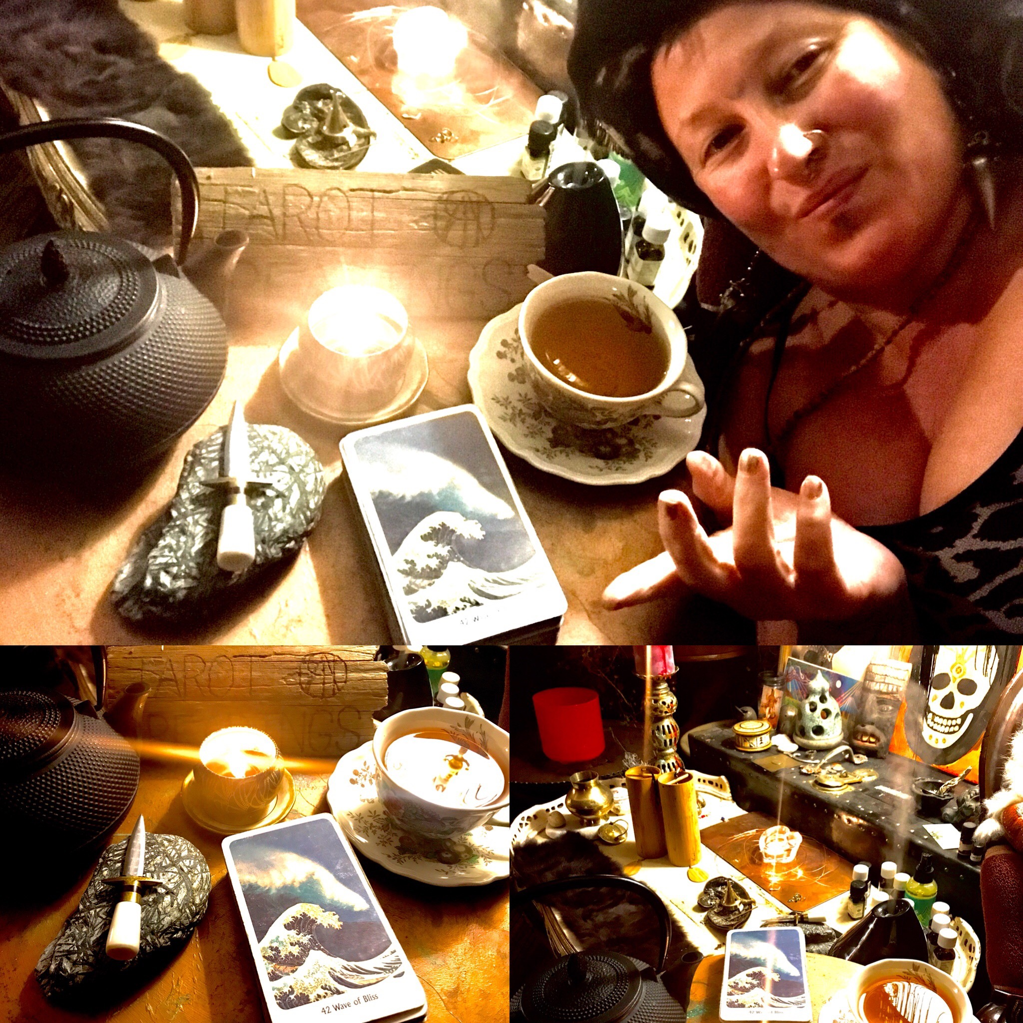 Tarot & Tea Ceremony