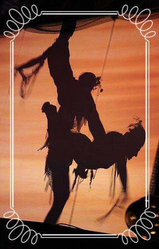 Dreamtime Circus Acroyoga Shadowplay