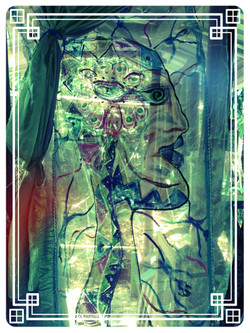 Huilo'sStained Glass Fabric Painting
