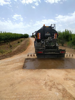 IRRIDAN Road stabilization & Dust control