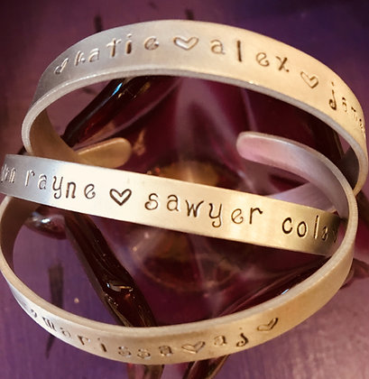 Personalized Mother's Bracelet