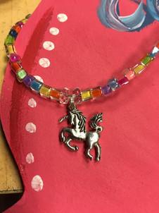 Unicorn Party- close up necklace