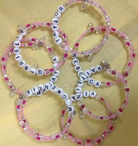 Little Girl's Name Bracelet