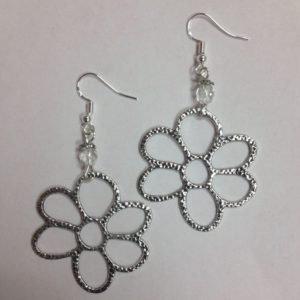 Daisy or Flower Earrings