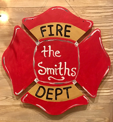 Fire Fighter First Responder Cut Out