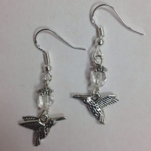 Hummingbird Nature Themed Bird Earrings