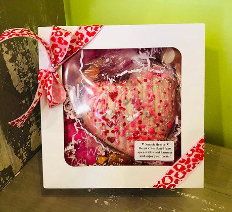 Valentine's Day Chocolate Smash Jumbo Heart