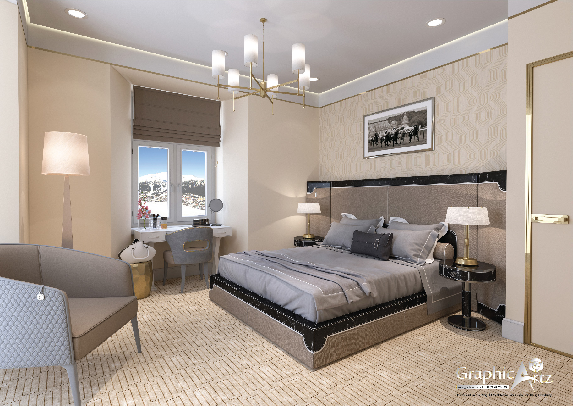 Interior CGI Bedroom 1