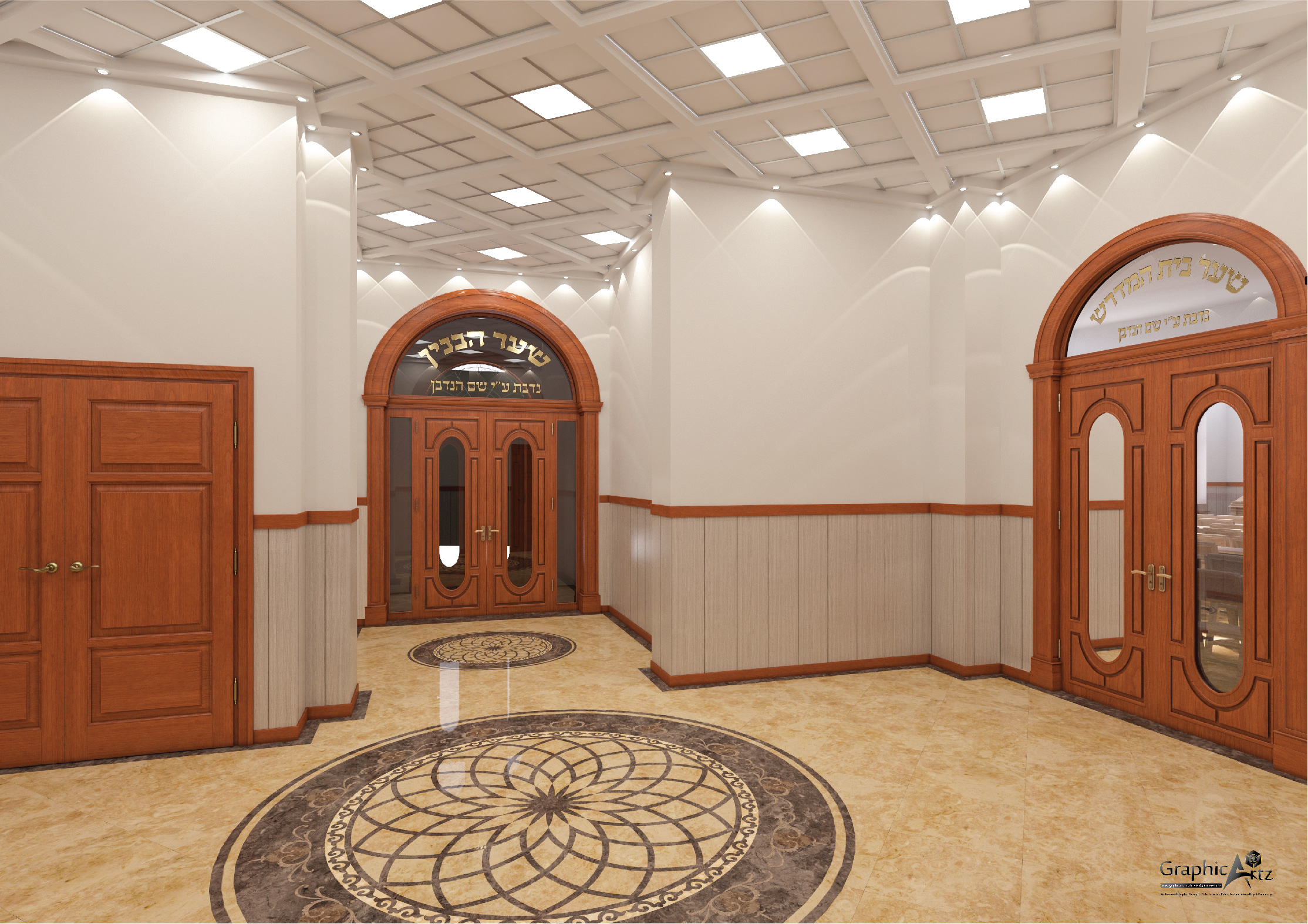 Sunderland lobby CGI