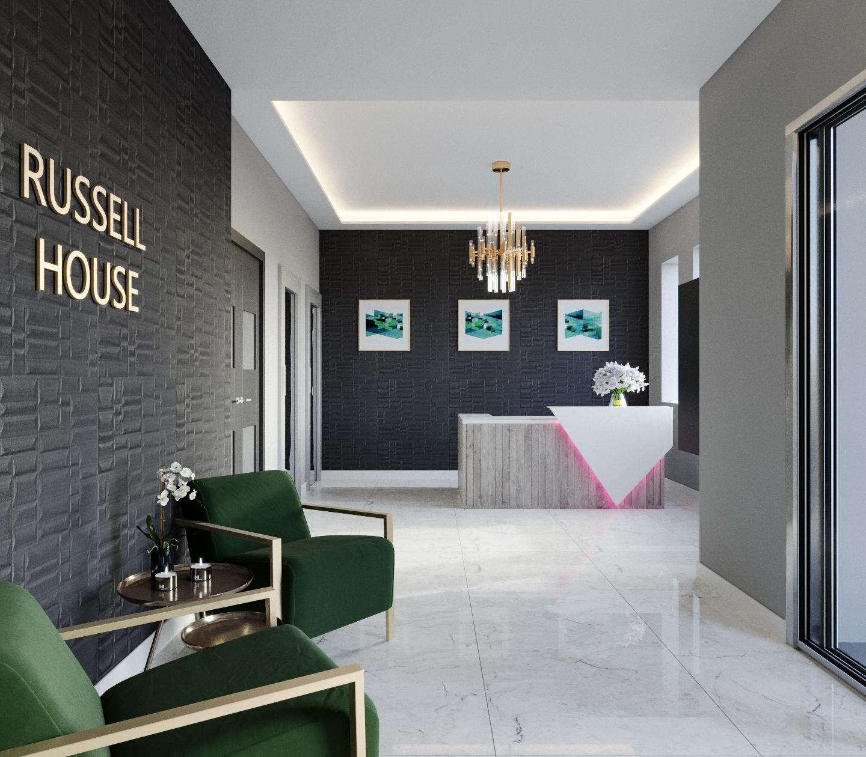 Lobby Luxury CGI